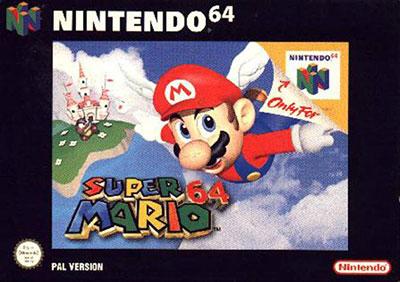 Super Mario 64 PAL-Box