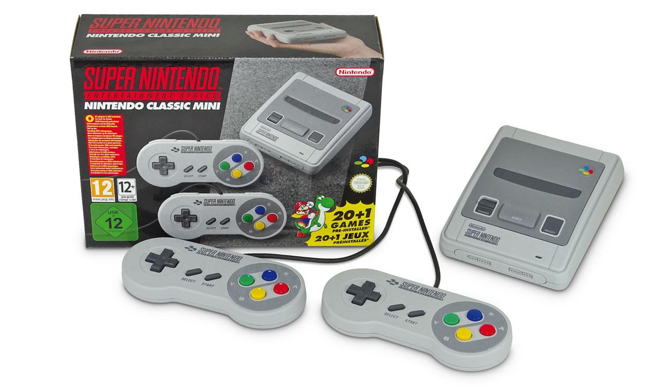 SNES Mini ist ein exakter Hardware-Klon des NES Mini
