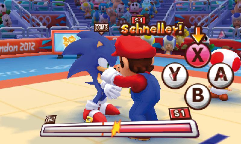 Mario Sonic Bei Den Olympischen Spielen London 2012 Im Klassik