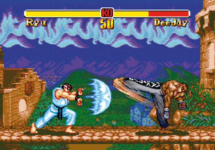 Super Street Fighter II: The New Challengers - im Klassik