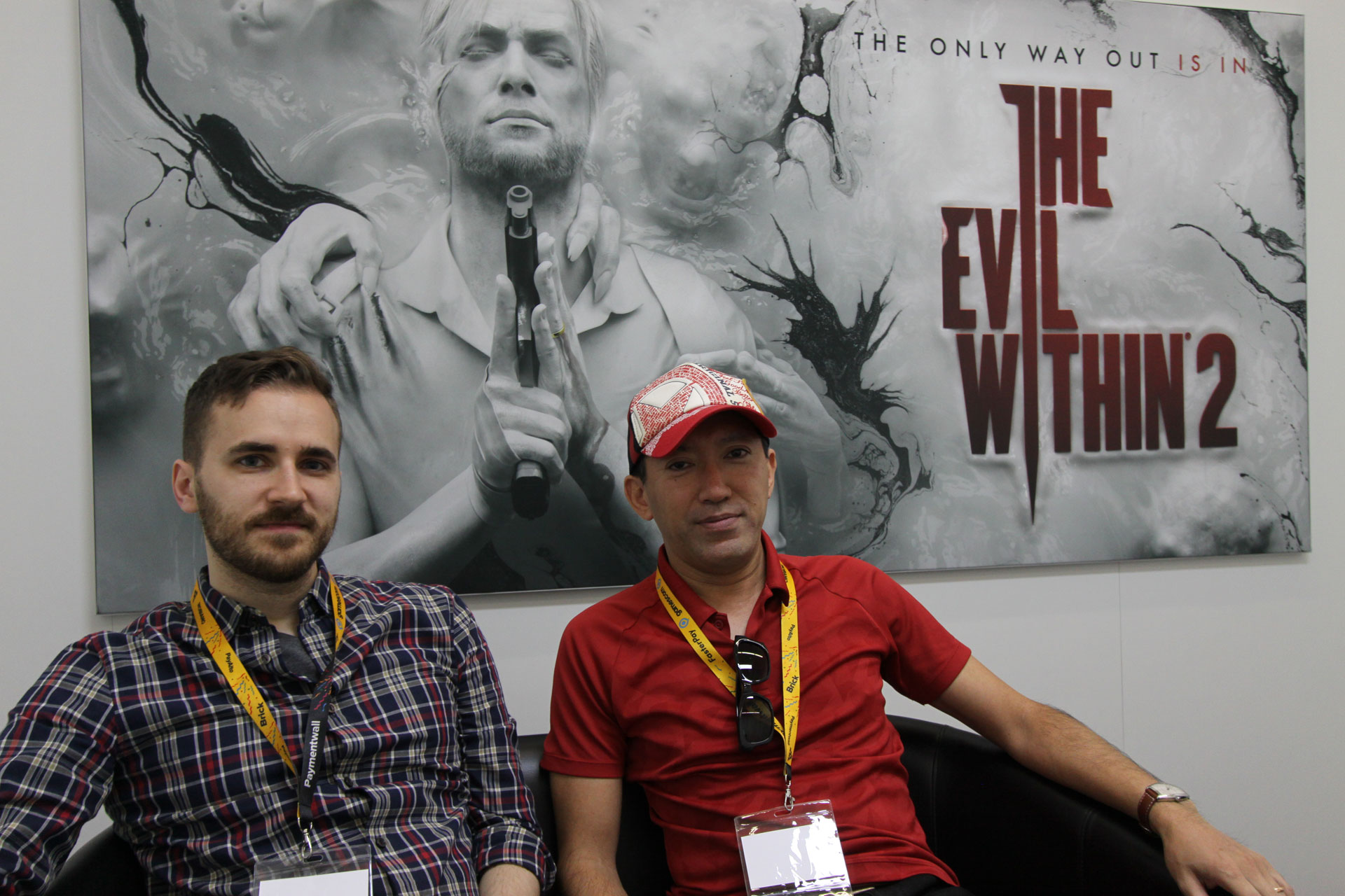 Im Gespräch: Shinji Mikami & John Johanas (The Evil Within 2 ...