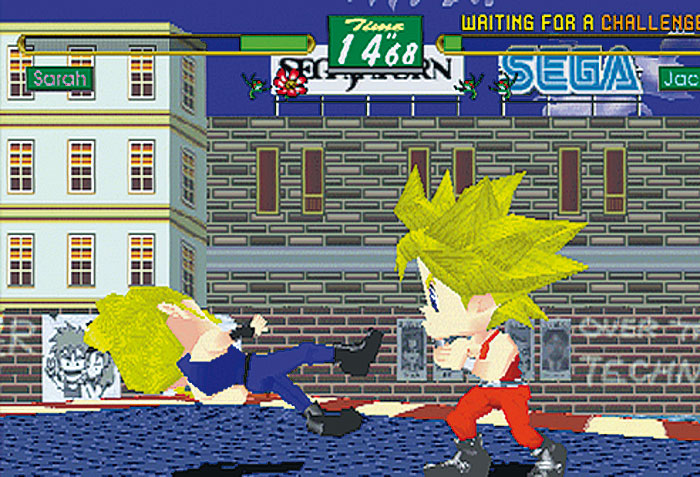 Virtua Fighter Kids - im Klassik-Test (SAT) – MANIAC de